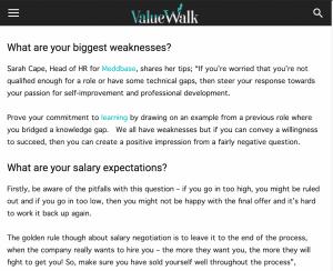 Meddbase in Value Walk